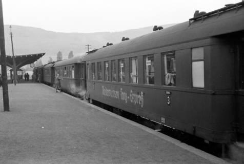 ARH NL Dierssen 1024/0022, Ausflug mit dem Niedersachsen Tanz-Express nach Bad Harzburg, 1950