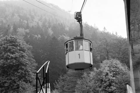 ARH NL Dierssen 1025/0001, Ausflug mit dem Niedersachsen Tanz-Express nach Bad Harzburg - Seilbahn, 1950