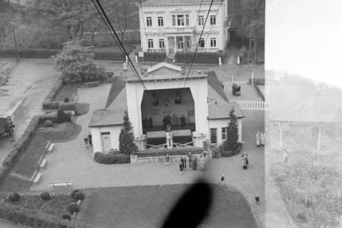 ARH NL Dierssen 1025/0002, Ausflug mit dem Niedersachsen Tanz-Express nach Bad Harzburg - Seilbahn, 1950