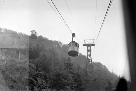 ARH NL Dierssen 1025/0003, Ausflug mit dem Niedersachsen Tanz-Express nach Bad Harzburg - Seilbahn, 1950