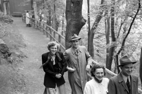 ARH NL Dierssen 1025/0007, Ausflug mit dem Niedersachsen Tanz-Express nach Bad Harzburg, 1950