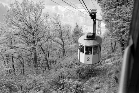 ARH NL Dierssen 1025/0008, Ausflug mit dem Niedersachsen Tanz-Express nach Bad Harzburg - Seilbahn, 1950