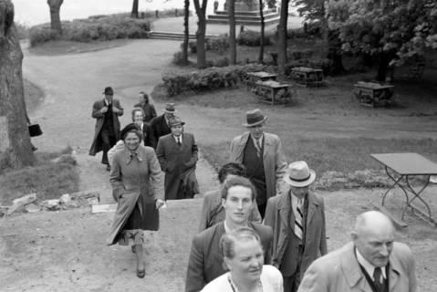 ARH NL Dierssen 1026/0017, Ausflug mit dem Niedersachsen Tanz-Express nach Bad Harzburg, 1950