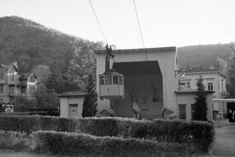 ARH NL Dierssen 1027/0018, Ausflug mit dem Niedersachsen Tanz-Express nach Bad Harzburg - Seilbahn, 1950
