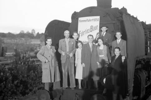 ARH NL Dierssen 1027/0019, Ausflug mit dem Niedersachsen Tanz-Express nach Bad Harzburg, 1950