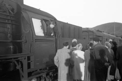 ARH NL Dierssen 1027/0021, Ausflug mit dem Niedersachsen Tanz-Express nach Bad Harzburg, 1950
