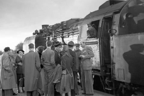 ARH NL Dierssen 1027/0022, Ausflug mit dem Niedersachsen Tanz-Express nach Bad Harzburg, 1950