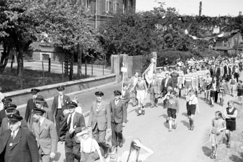 ARH NL Dierssen 1028/0008, Feuerwehrfest, 1950