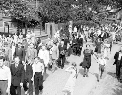 ARH NL Dierssen 1028/0011, Feuerwehrfest, 1950