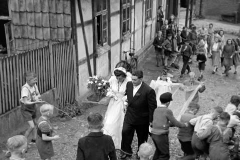 ARH NL Dierssen 1030/0001, Hochzeit Gassmann, Völksen, 1950
