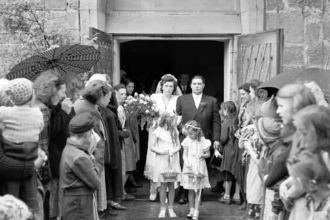 ARH NL Dierssen 1030/0006, Hochzeit Gassmann, Völksen, 1950