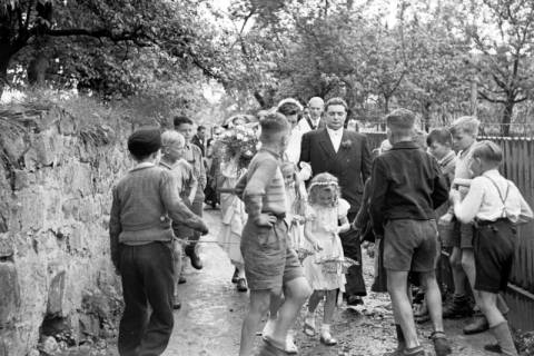 ARH NL Dierssen 1030/0009, Hochzeit Gassmann, Völksen, 1950