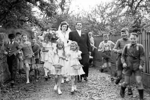 ARH NL Dierssen 1030/0010, Hochzeit Gassmann, Völksen, 1950