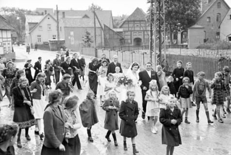 ARH NL Dierssen 1030/0011, Hochzeit Gassmann, Völksen, 1950
