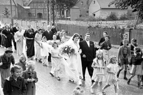 ARH NL Dierssen 1030/0012, Hochzeit Gassmann, Völksen, 1950