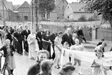 ARH NL Dierssen 1030/0013, Hochzeit Gassmann, Völksen, 1950