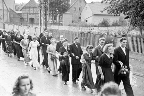 ARH NL Dierssen 1030/0014, Hochzeit Gassmann, Völksen, 1950