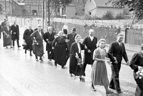 ARH NL Dierssen 1030/0018, Hochzeit Gassmann, Völksen, 1950