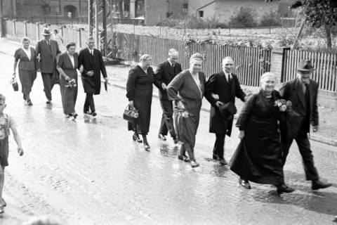ARH NL Dierssen 1030/0019, Hochzeit Gassmann, Völksen, 1950
