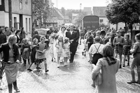 ARH NL Dierssen 1030/0022, Hochzeit Gassmann, Völksen, 1950