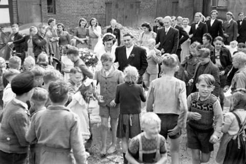 ARH NL Dierssen 1030/0023, Hochzeit Gassmann, Völksen, 1950