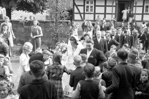 ARH NL Dierssen 1031/0002, Hochzeit Gassmann, Völksen, 1950