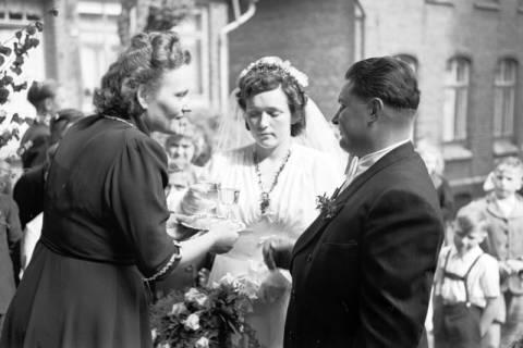 ARH NL Dierssen 1031/0003, Hochzeit Gassmann, Völksen, 1950