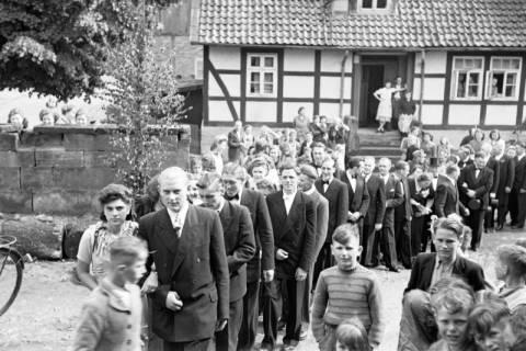 ARH NL Dierssen 1031/0005, Hochzeit Gassmann, Völksen, 1950