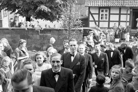 ARH NL Dierssen 1031/0007, Hochzeit Gassmann, Völksen, 1950