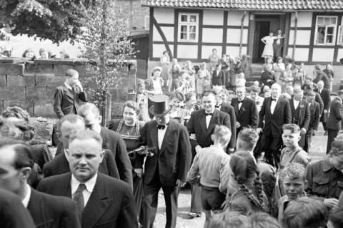 ARH NL Dierssen 1031/0008, Hochzeit Gassmann, Völksen, 1950