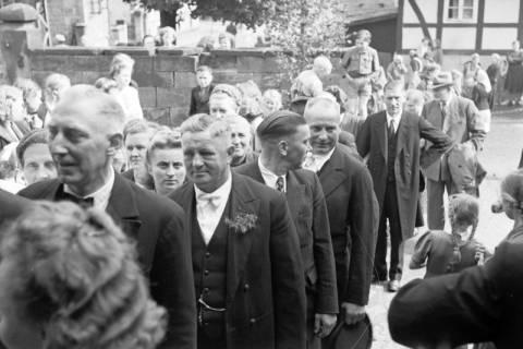 ARH NL Dierssen 1031/0010, Hochzeit Gassmann, Völksen, 1950