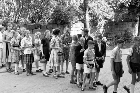 ARH NL Dierssen 1033/0002, Goldene Konfirmation, Bennigsen, 1950