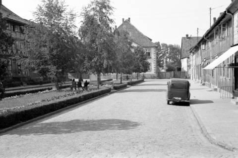 ARH NL Dierssen 1034/0025, Marktplatz, Pattensen, 1950