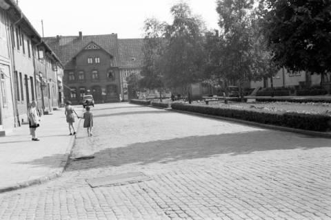 ARH NL Dierssen 1034/0027, Marktplatz, Pattensen, 1950