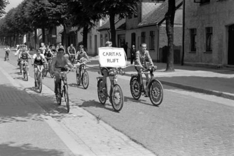 """ARH NL Dierssen 1041/0007, Rad-Werbung """"Caritas ruft"""", 1950"""