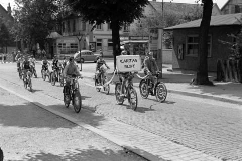 """ARH NL Dierssen 1041/0009, Rad-Werbung """"Caritas ruft"""", 1950"""