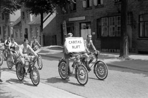 """ARH NL Dierssen 1041/0011, Rad-Werbung """"Caritas ruft"""", 1950"""