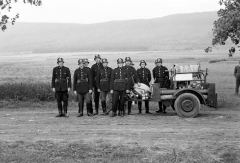 ARH NL Dierssen 1043/0029, Feuerwehr, Alvesrode, 1950
