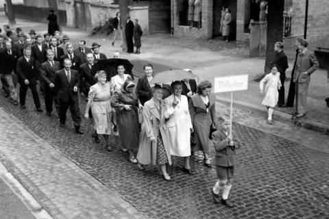 ARH NL Dierssen 1044/0010, Feuerwehrfest, Springe, 1950