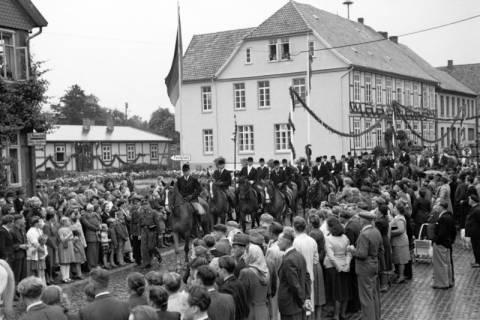 ARH NL Dierssen 1044/0019, Feuerwehrfest, Springe, 1950
