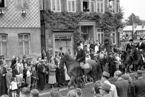 ARH NL Dierssen 1044/0020, Feuerwehrfest, Springe, 1950
