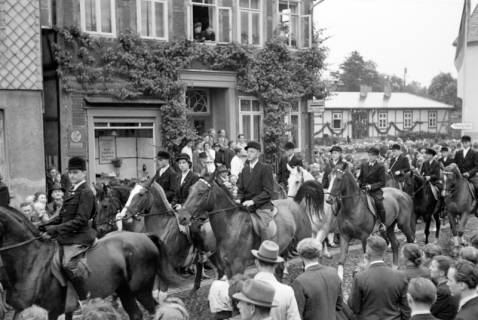 ARH NL Dierssen 1044/0023, Feuerwehrfest, Springe, 1950