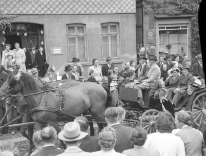 ARH NL Dierssen 1044/0027, Feuerwehrfest, Springe, 1950