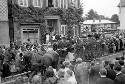 ARH NL Dierssen 1044/0028, Feuerwehrfest, Springe, 1950