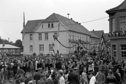 ARH NL Dierssen 1045/0002, Feuerwehrfest, Springe, 1950