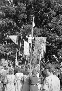 ARH NL Dierssen 1058/0023, Schützenfest, Eldagsen, 1950