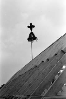 ARH NL Dierssen 1081/0013, Richtfest Katholische Kirche, Springe, 1950