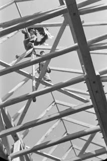 ARH NL Dierssen 1081/0022, Richtfest Katholische Kirche, Springe, 1950