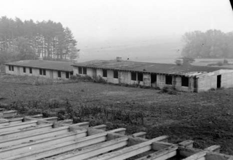 ARH NL Dierssen 1084/0011, Alte Baracken der Luther-Werke, Steinkrug, 1950