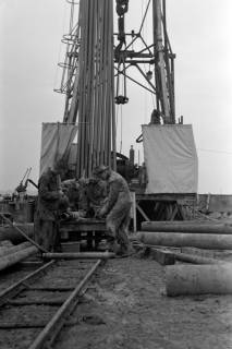 ARH NL Dierssen 1084/0014, Erdölbohrturm, Wülferode, 1950